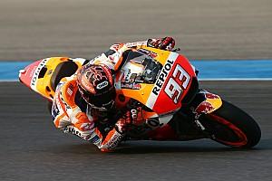 MotoGP Crónica de test Márquez y Pedrosa marcan el ritmo en Tailandia