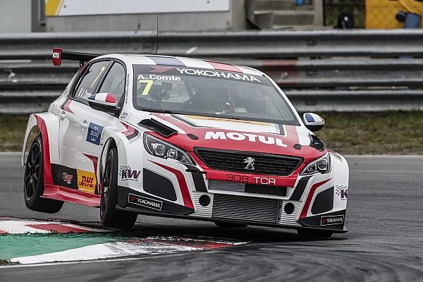 WTCR Crónica de Carrera Comte da a Peugeot su primera victoria en el WTCR