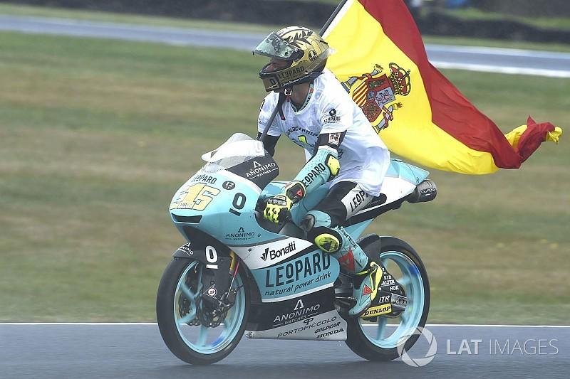 Was Moto3-Champion Joan Mir und Valentino Rossi vereint