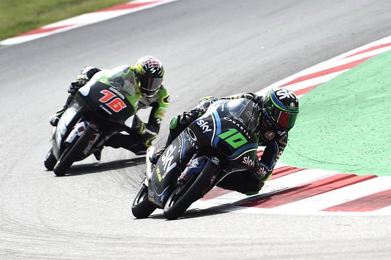 Pioggia di penalità sulla griglia della classe Moto3 dopo le libere di Assen