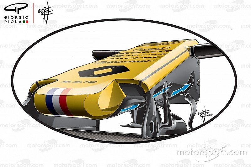 Revealed:Renault's improved 2018 S-duct idea