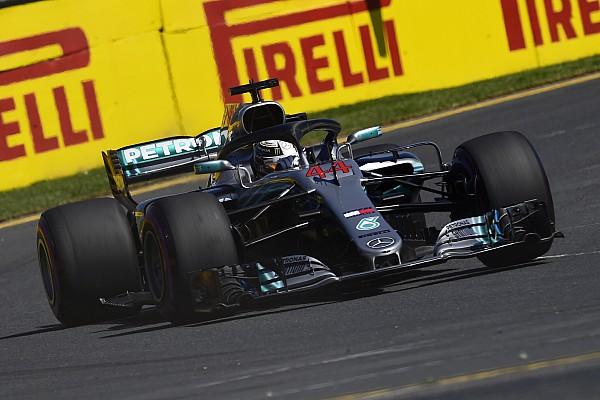 Formel 1 Trainingsbericht Formel 1 Melbourne 2018: Vorsprung von Mercedes schmilzt
