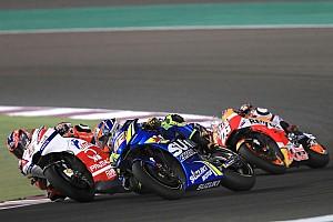 MotoGP Reaktion Suzuki: Alex Rins bis zum Sturz in Spitzengruppe dabei