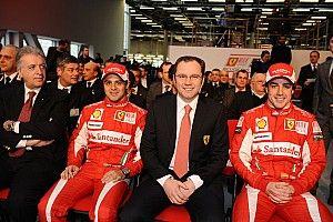 """Domenicali: """"Az F1-nek szüksége van a versenyképes Ferrarira"""""""