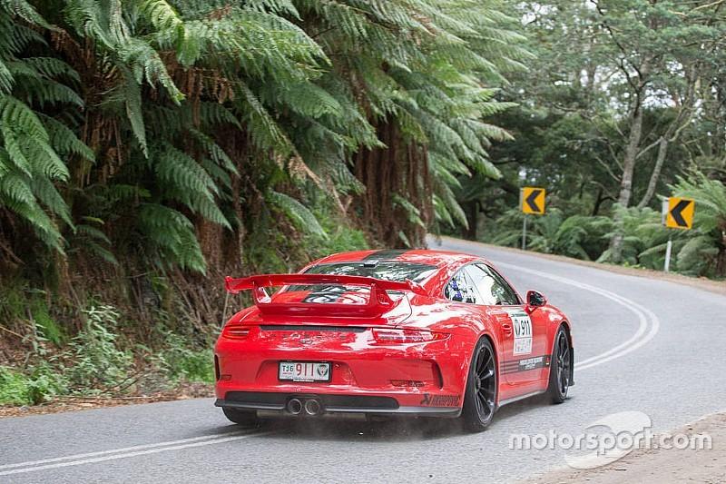 Targa Tasmania: Close holding on after Day 2