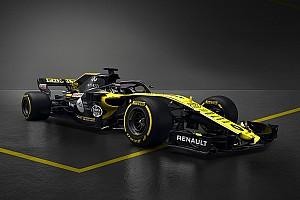 Renault'nun 2018 F1 aracı RS18 tanıtıldı