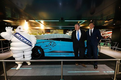 La Jaguar Racing con la Michelin per l'I-PACE eTrophy