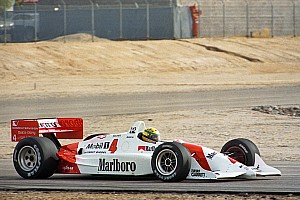 Gallery: When Senna tested an Indy car