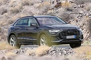 Automotive News Audi Q8 2018 ungetarnt erwischt
