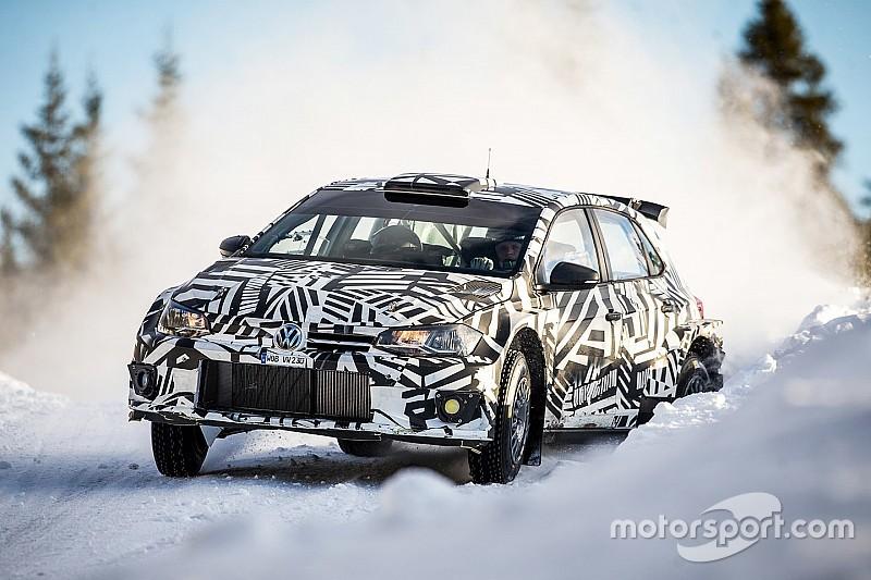 [WRC] 索伯格和格隆霍姆为大众测试Polo R5赛车