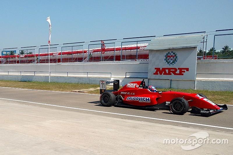 Chennai MRF: Drugovich takes title as van Kalmthout wins Race 1