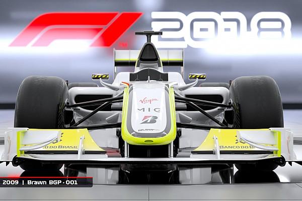 Fórmula 1 Últimas notícias Brawn de 2009 estará no novo game F1 2018