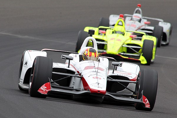 "Servia on passing 46 cars in the Indy 500: ""I was on fire!"""