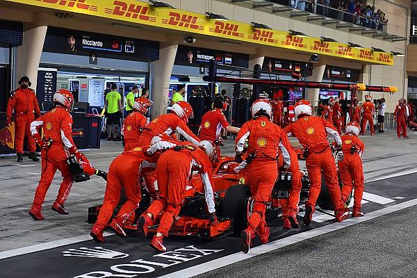 Video dari fan perlihatkan Ocon nyaris tabrak mekanik Ferrari