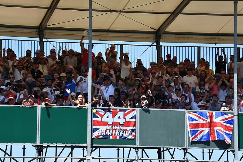 GALERI: Suasana dan aksi balapan GP Inggris