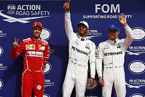 Fórmula 1 Crónica de Clasificación La parrilla de salida del GP de Bélgica