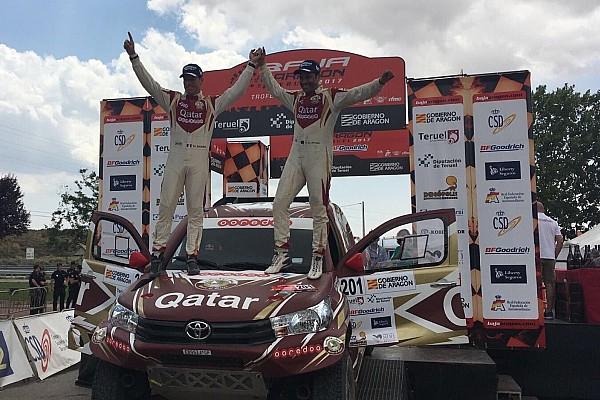 Cross-Country Rally Reporte de la carrera Al Attiyah le arrebata a Hirvonen la Baja Aragón 2017