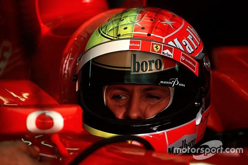 Всі шоломи Міхаеля Шумахера в Формулі 1