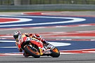 Austin MotoGP: Marquez leads Vinales in morning warm-up