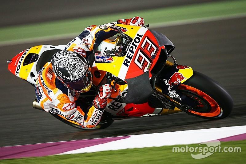 Test Qatar, Day 1: Marquez cade con la nuova carena, Dovi vola alle 21 - MotoGP News