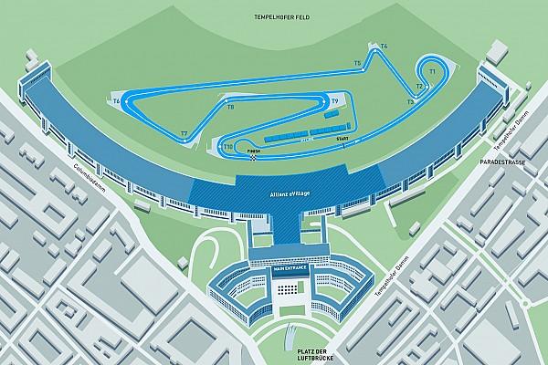 Формула E Новость Формула E представила новую конфигурацию трассы в Берлине