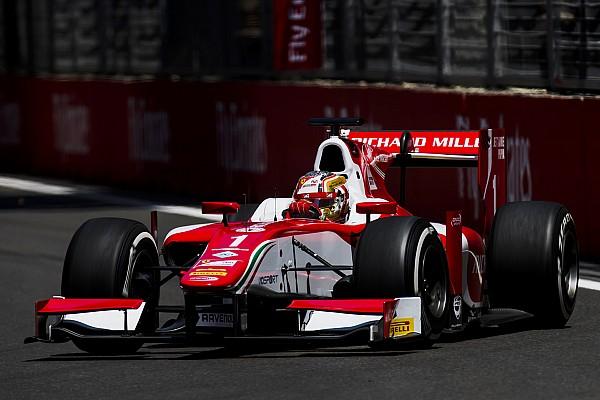 F2 in Baku: Leclerc mit 4. Pole in Folge