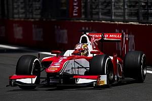 FIA F2 Reporte de calificación Leclerc logra en Bakú su cuarta pole consecutiva en la F2