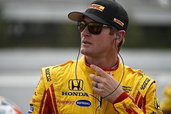 Hunter-Reay krijgt toestemming om te racen na crash van 139G