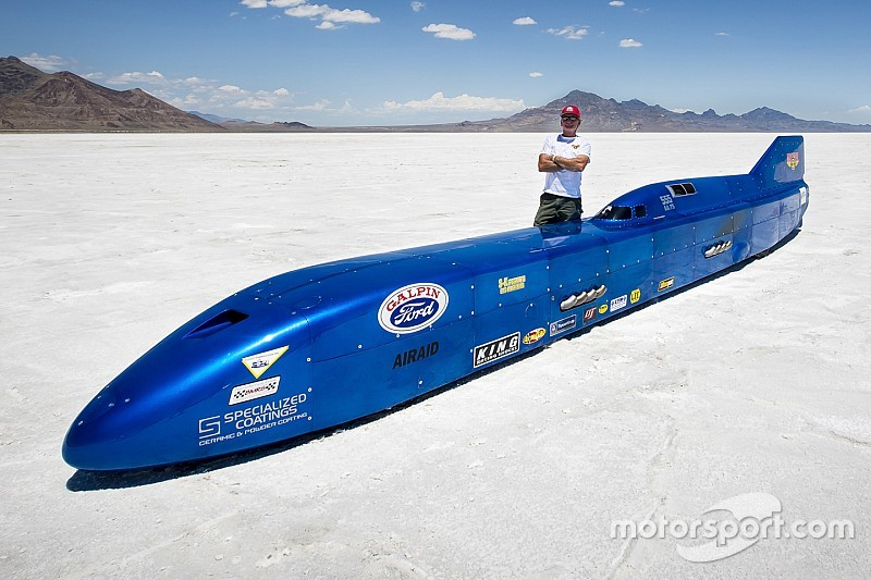 Land Speed Record >> Thompson Aims For Land Speed Record