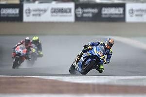 Dapat tekanan dari Dovizioso-Rossi, Rins gugup