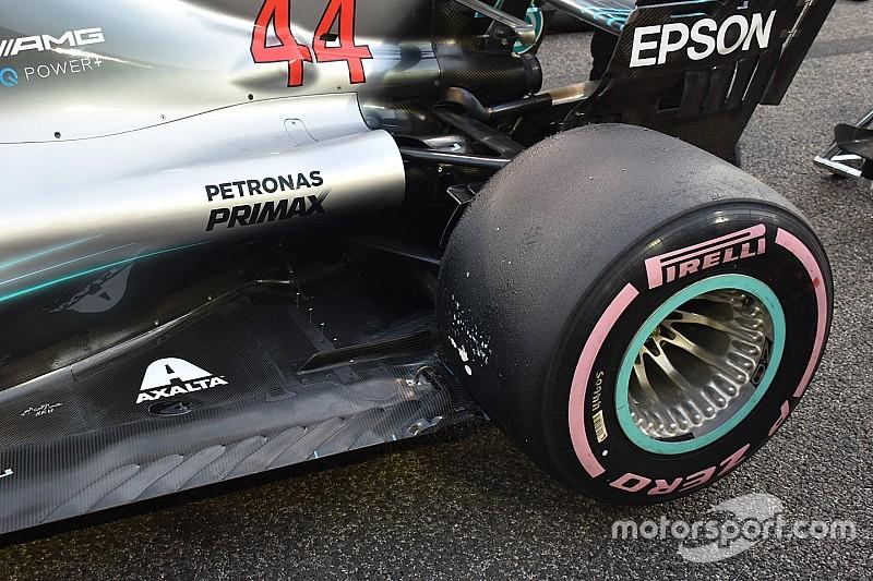 Meesterzet Mercedes voor de Pirelli-bandentest?