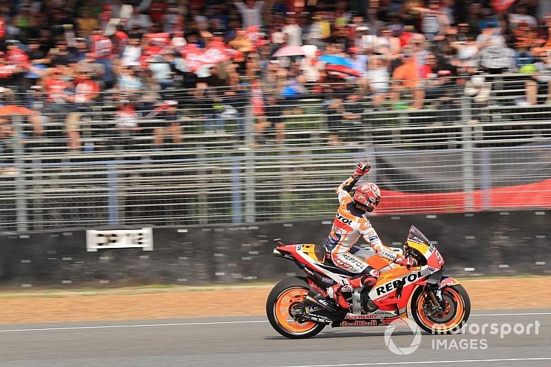 Marquez scrive un'altra pagina di storia: è il primo poleman in MotoGP che arriva dalla Q1