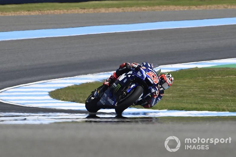 Viñales y Rossi lideran el primer ensayo libre en Buriram en plena crisis de Yamaha