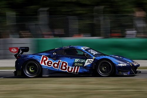 Monza DTM: Lawson claims debut win in Red Bull Ferrari