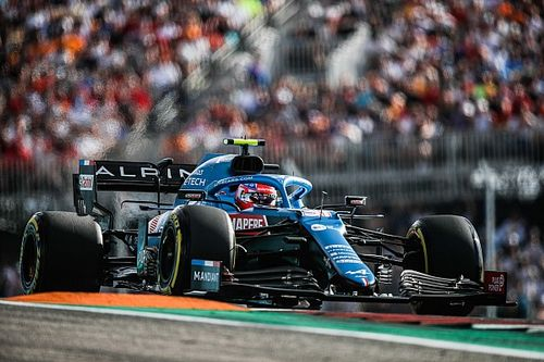 Austin bumps were 'on the limit' for F1, says Ocon