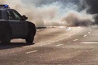 Iszonyatosan összetört egy Ford GT, amely Alfa Romeóval ütközött (videó)