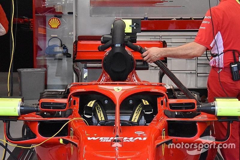 La FIA tiene d'occhio il ventolino della Ferrari che oscura la visuale della camera car