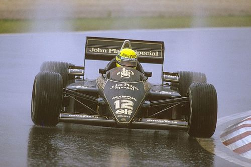 When Senna broke his F1 duck by walking on water