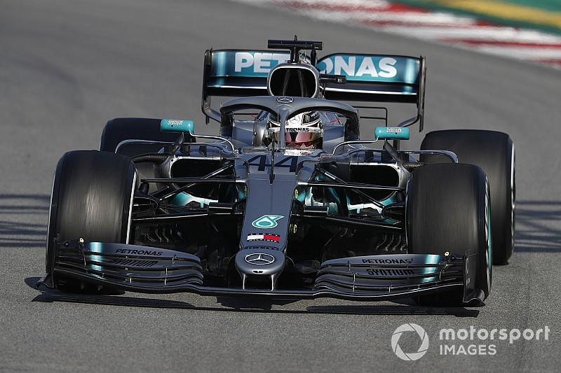 Hamilton juge les pneus 2019 un peu