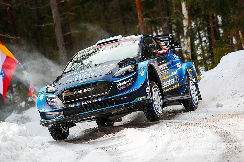 WRC Zweden: Suninen aan de leiding in Zweden, Ogier out - WRC nieuws