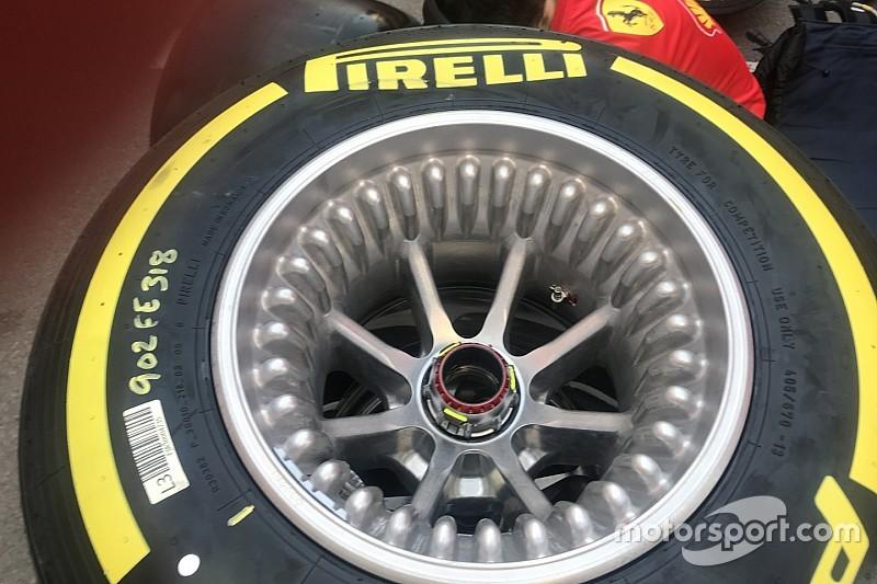 Ferrari: i cerchi bugnati con i fori cominciano a funzionare anche sulla SF90