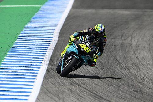 "Rossi se siente ""mejor"" luego del test en Jerez"