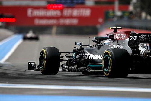 """Bottas """"en iyisini yapmasına rağmen"""" neden Hamilton'dan yavaş kaldığını bilmiyor"""