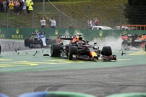 """Horner: """"Bottas hizo un gran trabajo para Mercedes al sacar nuestros dos coches"""""""