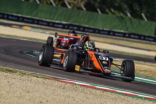 F4: cambia la classifica di gara 3 a Imola, Bearman escluso