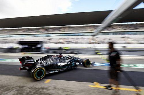 F1: Hamilton explica escolha 'improvável' de pneus médios para pole position