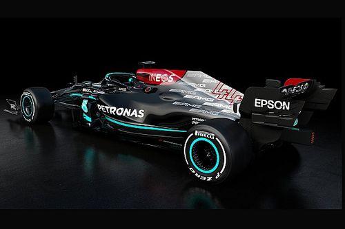 F1: Mercedes esconde onde empregou fichas de desenvolvimento do W12