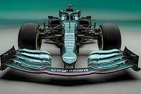 Foto's: De nieuwe F1-auto van Aston Martin uit alle hoeken
