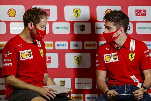Leclerc explains what he learned from Vettel as F1 team-mates