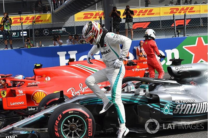 La parrilla de salida del GP de Italia, en imágenes